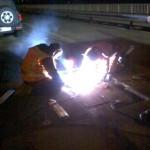 Reparatie brug Ewijk